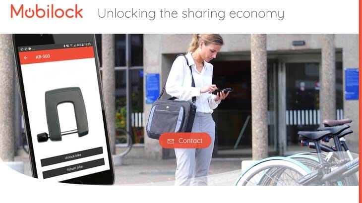 mobilock fahrradschloss smartphone app